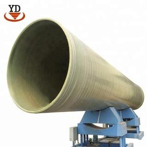 Factory Price Fiberglass Anti-corrosion underground FRP GRP Pipes