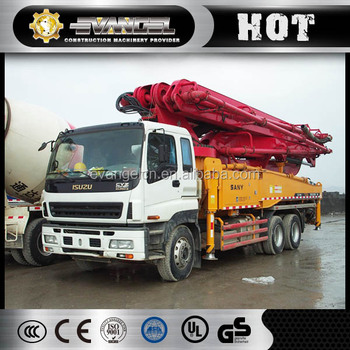 High quality Sany 38m concrete pump SYG5271THB with good price