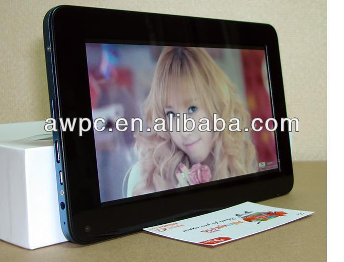 AWPC RK3168 DUAL CORE 7'' SUPPORT 3G ANDROID TABLET PC WITH HDMI INPUT