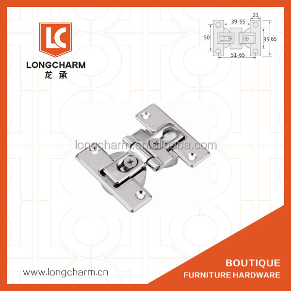 180 degree adjustable invisible table hinge from longcharm hardware