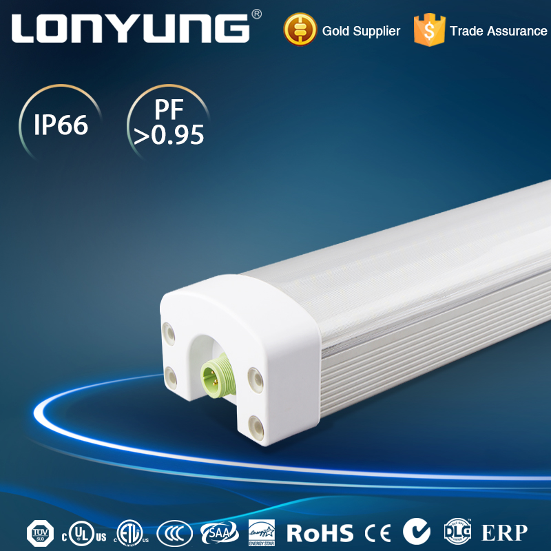 High bright GAS tunnel 2700-6500K 900lm-4400lm fluorescent light