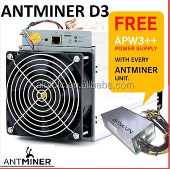 Bitmain Antminer D3 Using 2 Power Supplies Bitmain Antminer