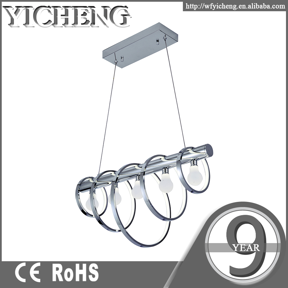 75w design solutions international modern led chandelier lighting