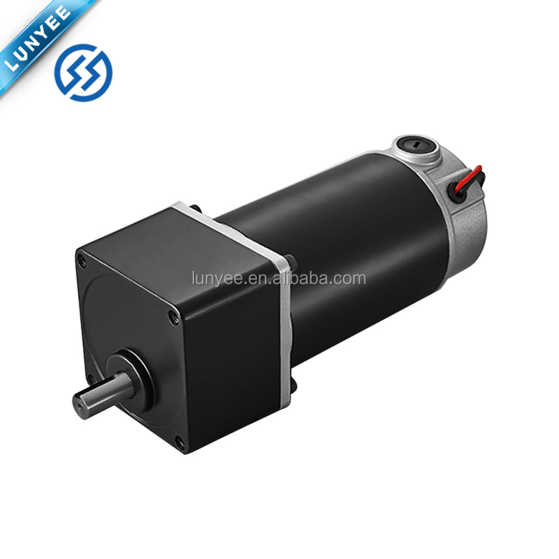 40w 12v 60rpm 50:1 brushed dc gear motor with gearbox
