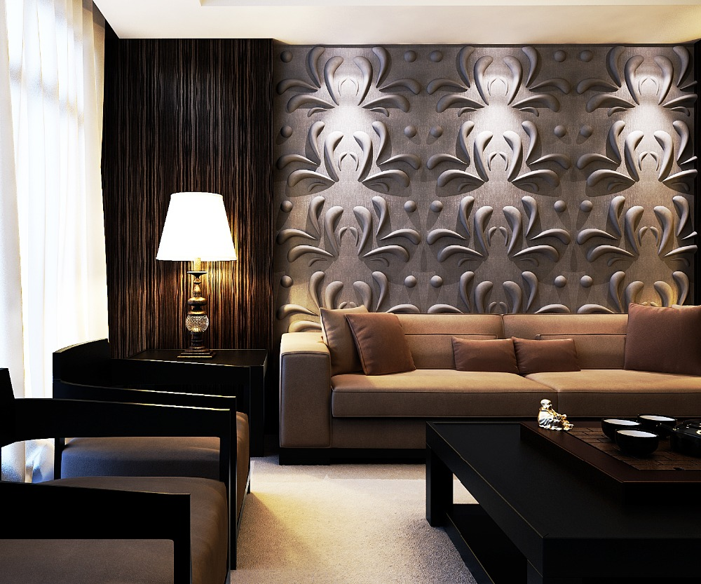 Wallpapers decoracion interiores - Paneles revestimiento interior ...