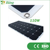 110W Sunpower Marine Flexible Solar Panel for 12V 24V Battery