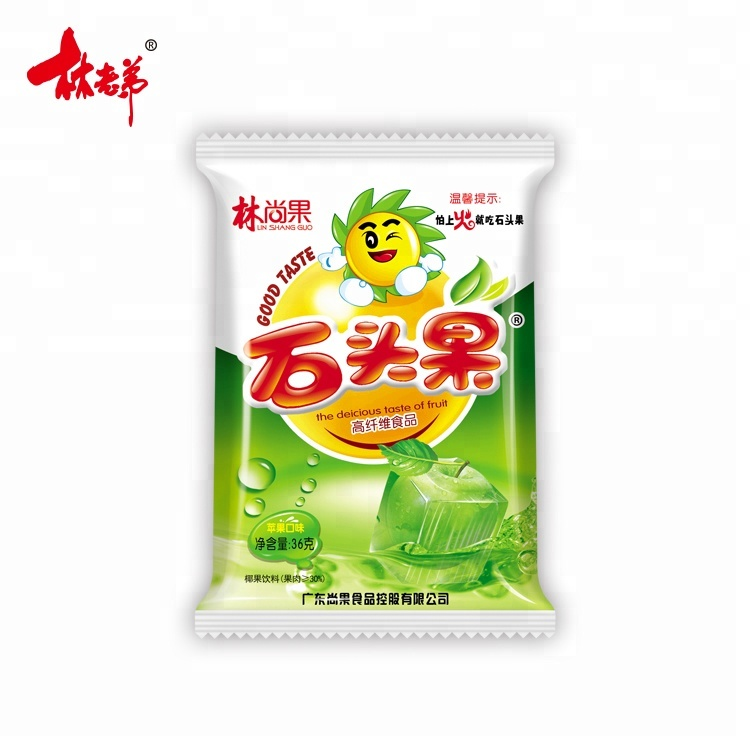 36g snacks apple taste coconut <strong>fruit</strong> drink nata de coco
