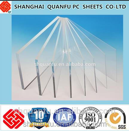 round light solid r polycarbonate sheet greenhouse/house skylights 10 years warranty 1mm