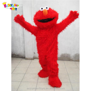 Enjoyment CE movie character Custom fur elmo mascot costume for adult