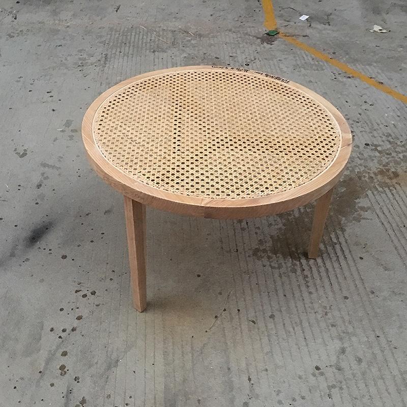 Sample Design Round Coffee Table Rattan