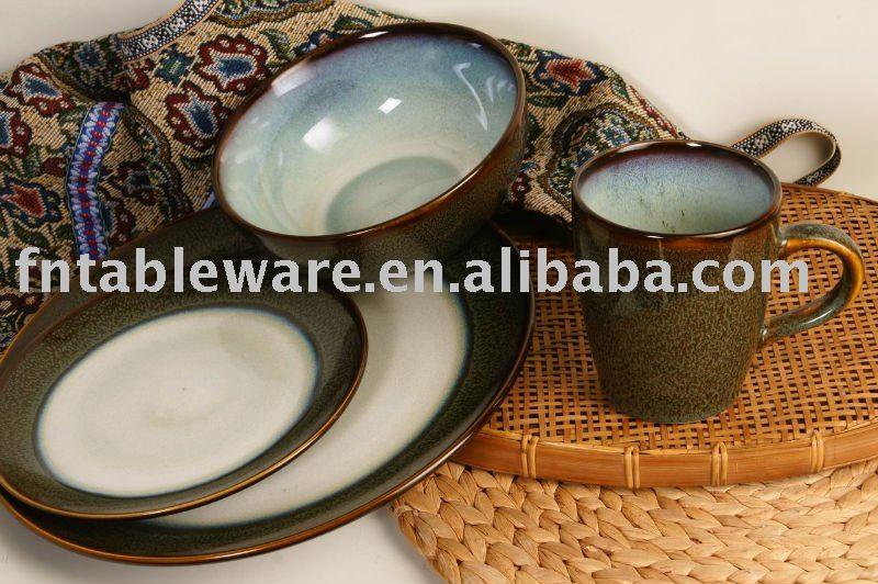 Reactive Glazing Stoneware Dinnerware - Buy Stoneware Reactive Glazed DinnerwareReactive Glaze DinnerwareWestern Stoneware Dinnerware Product on Alibaba. ... & Reactive Glazing Stoneware Dinnerware - Buy Stoneware Reactive ...