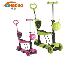 China Roller Fabrik Online Großhandel 3 IN 1 Kinder Roller Push-Bike <span class=keywords><strong>Drei</strong></span> Rad Kinder Kick