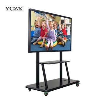 75 ''YCZX geen gevouwen elektronische touch screen monitor interactieve whiteboard wiht pc/smart tv
