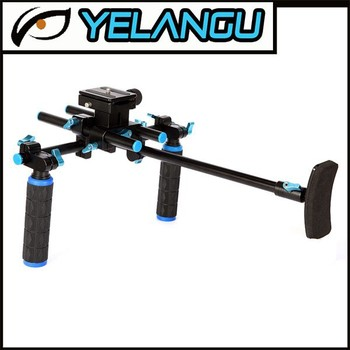 china YLG multi-function camera shoulder rig /handle stabilizer/bmcc rig