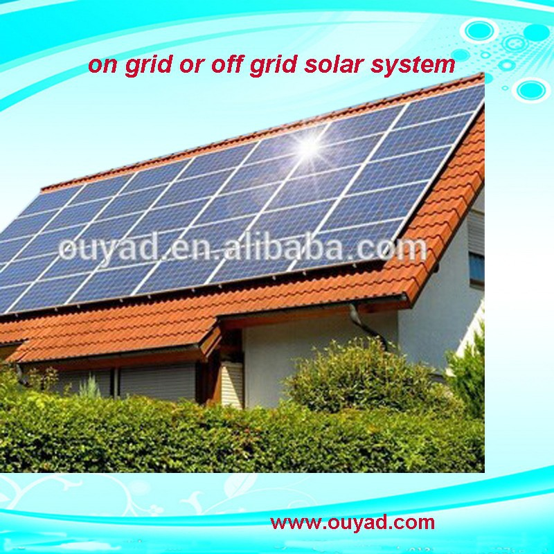 2015 newest product solar grid hybrid power 3KW solar power solar home energy system