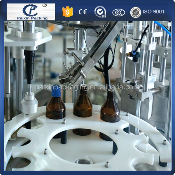 No leakage sugar syrup plastic bottle packing machine CE standard from shanghai