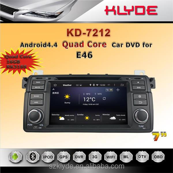 7Inch Car Dvd player With gps Navigation For Bmw E46 E90 car stereos audio with reversing camera