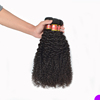 Finest quality 3b 3c curly hair waving hair weft