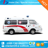Ambulance Vehicle/JAC gasoline type mini Ambulance Car for Sale