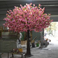 SJ1501033 Four season arvores artificial cherry flower tree with factory price