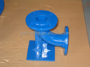 Ductile iron EN545 epoxy pipe fitting