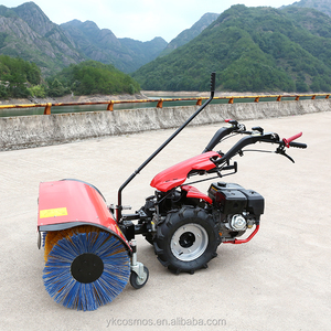 multi-function gas snow sweeper