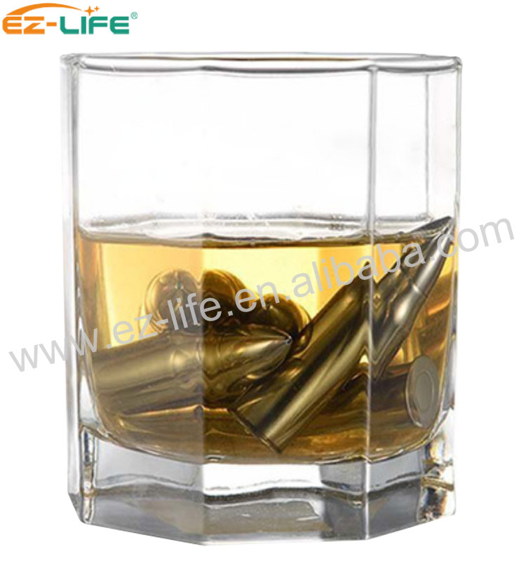 New Gift Product Ideas 2019 Ice Cube Reusable Whiskey Stones Bullets For Wine Chiller
