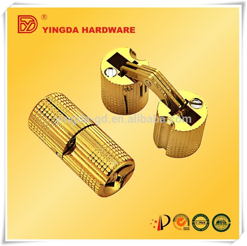 8mm Small Gold Brass Cylinder Jewelry Box Hinges For Wooden Box Yd ...