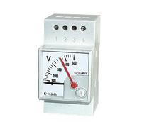 Dc Volt Meter Dc Voltmeter 72x72mm 96x96mm Analog Dc Panel Meter ...