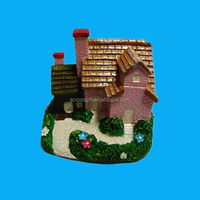 Hand paint samll ceramic christmas village houses