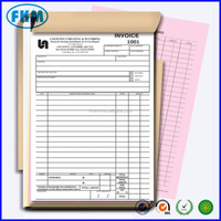 Carbonless Customized Customer Order Form / Invoice