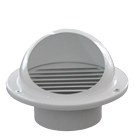 Chinese supplier aluminum round mushroom central air conditioning hood air vent