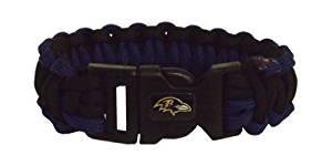NFL Baltimore Ravens Survivor Bracelet by Simran