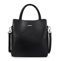 Guangzhou Market Wholesale 2017 Ladies Women Leather Tote Hand Bag