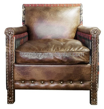 Spaans Single Seater Sofa Woonkamer Stoel/antieke Fauteuil/massief ...