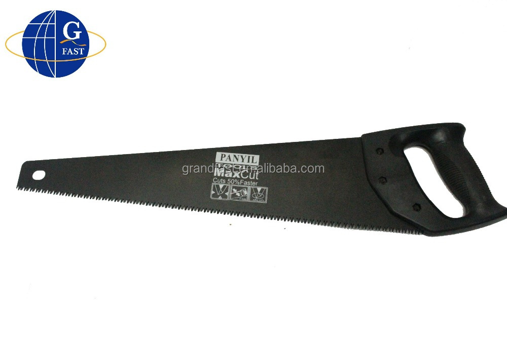 hand saws with plastic handle and dull polish