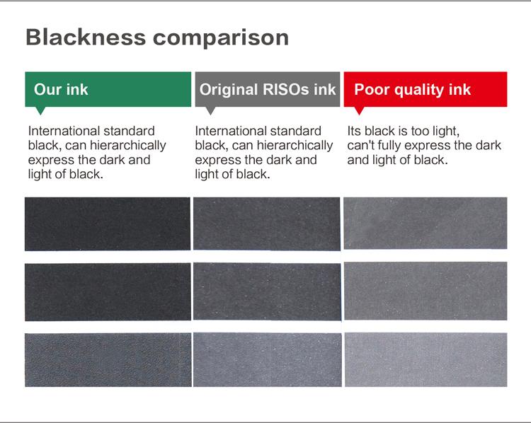 Tinta comcolors risos de qualidade original de fábrica 7150 para orphiss, imprime mais, não bloqueia a cabeça jato de tinta, padrão de cor