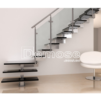 Modern Staircases/steel Staircase Details/glass Loft Conversion Staircase