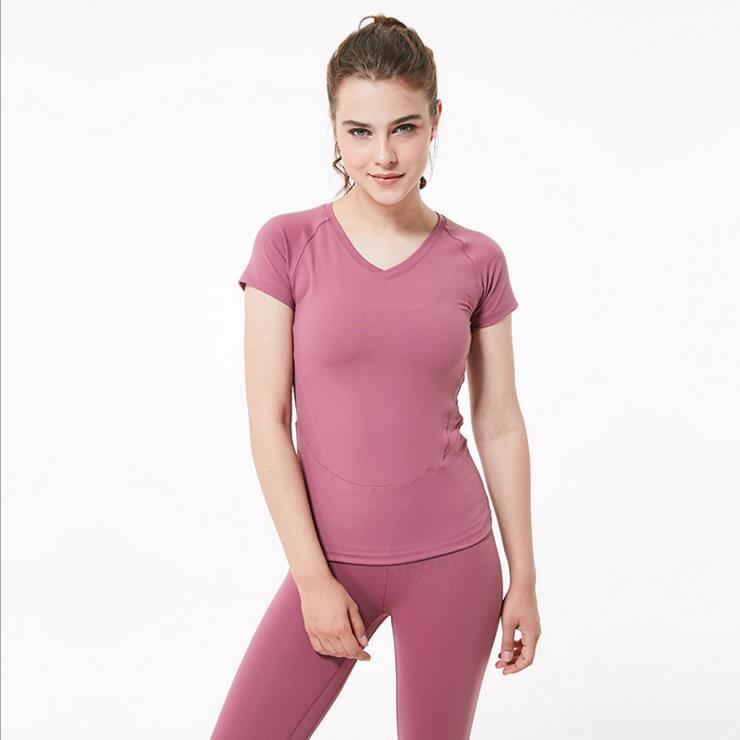 Wholesale Low Quantity Sports T dry Top Custom Women T Shirts
