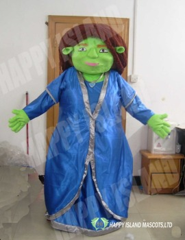 HI Fiona mascot costume shrek cartoon character anime cosplay costume for sale & Hi Fiona Mascot Costume Shrek Cartoon Character Anime Cosplay ...