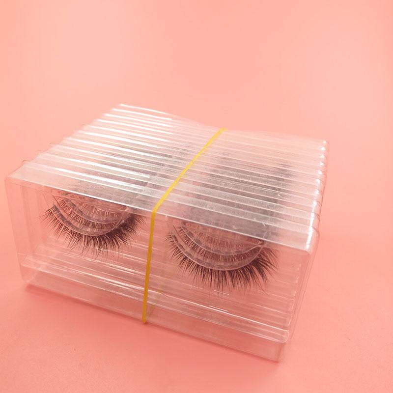 Worldbeauty High Quality 3D Real Mink False Eyelash Half Price, N/a