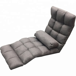 Adjustable Folding Lazy Sofa Chair Stylish Sofa Couch Beds Lounge Chair Memory Foam