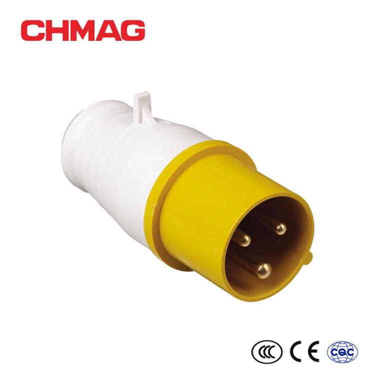 16a Male Socket Inline Plug 110v