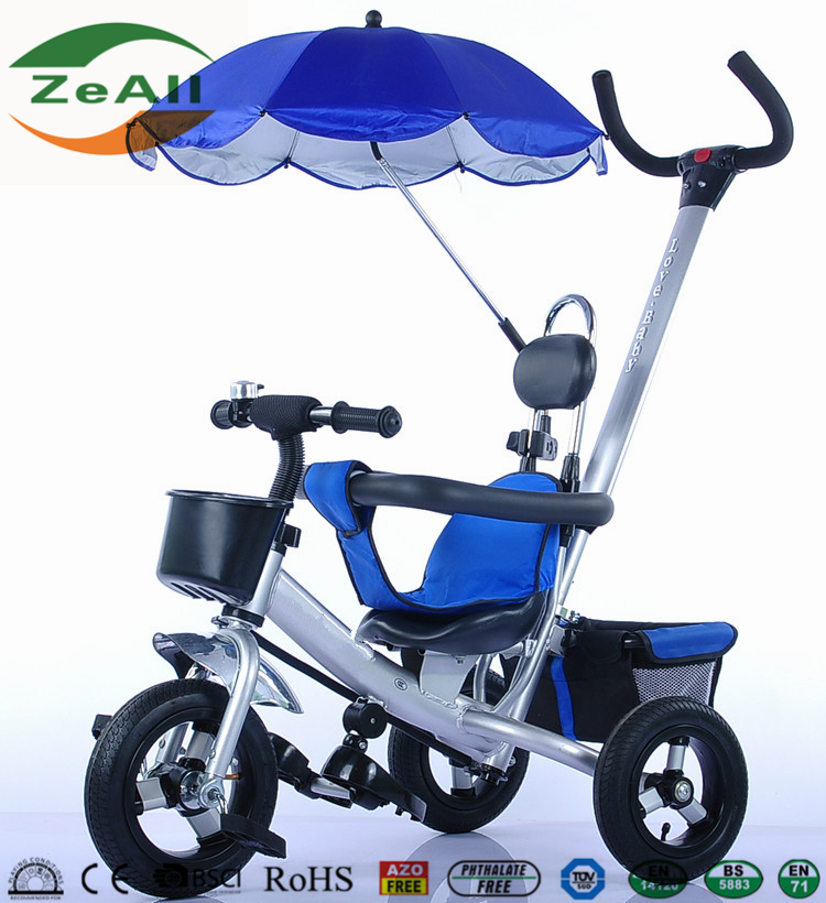 Three Wheels Kid's bicycle tricycle Mini Tricycle Bike Baby Stroller Carrier