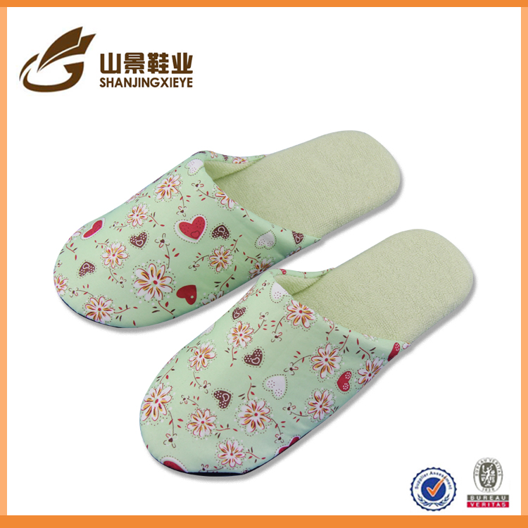 China factory slippers beauty woman slippers new style slippers