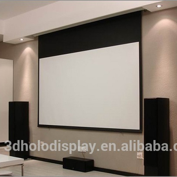 Ordinaire 150 Inch Motorized Projection Screen/ Electric Projector Screen/custom Size  Motor Screen   Buy Motorized Projection Screen,Spring Roller Front ...