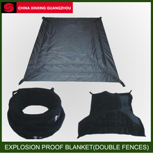 KELVAR military /fire suppression Explosion proof blanket Double Fences Explosion-proof Blanket enclosure new design