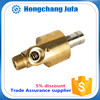 pvc pipe fittings forged brass rotary joint / high speed resistant water rotary joint