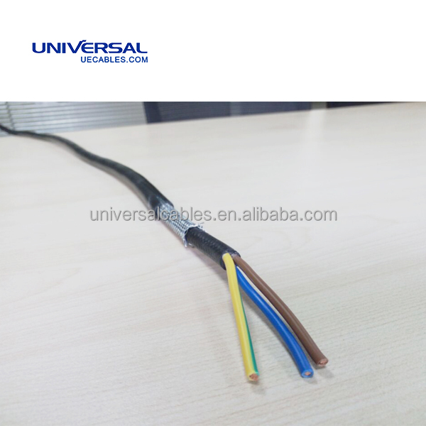 300/500V Highly Flexible PVC Insulation and Sheath for Exceptional Mechanical and Electrical Protection Power Cable