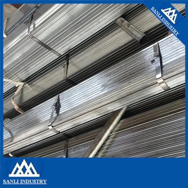 Galvanizado perfil de acero al carbono galvanizado tubo de for Perfiles de hierro galvanizado precio